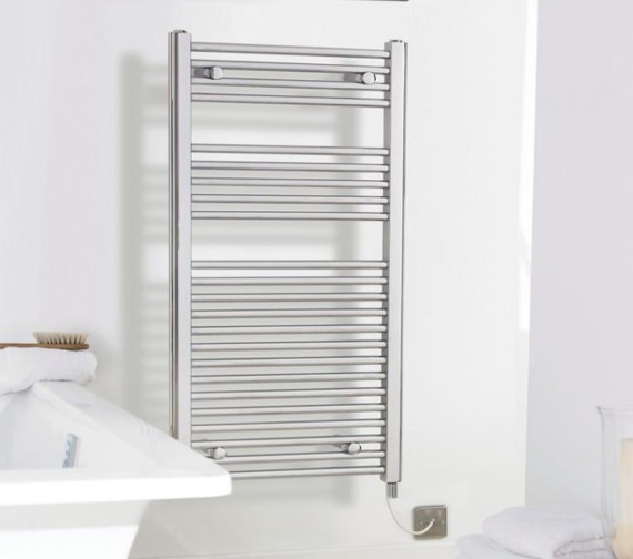 Lauren Electric Only 500 X 700mm Heated Ladder Chrome