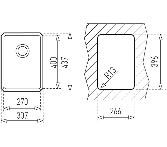 Technical drawing QS-V84270 / CTK2048