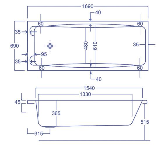 Technical drawing QS-V34565 / Q4-02221
