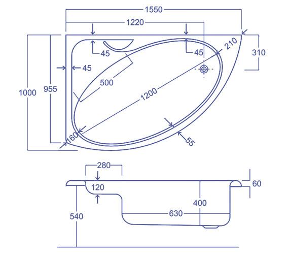 Technical drawing QS-V34569 / Q4-02232