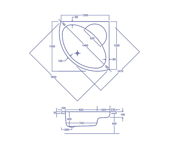 Technical drawing QS-V34570 / Q4-02236