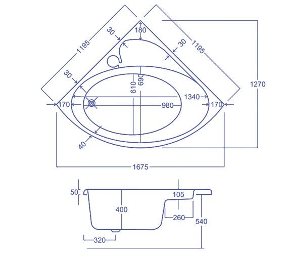 Technical drawing QS-V34571 / Q4-02242