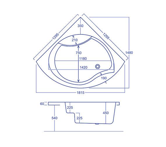 Technical drawing QS-V34572 / Q4-02244