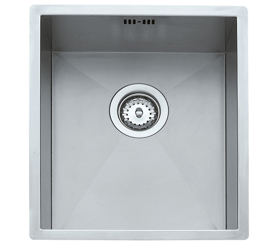 Teka Linea 340.400 Stainless Steel 1.0 Bowl Undermount Sink