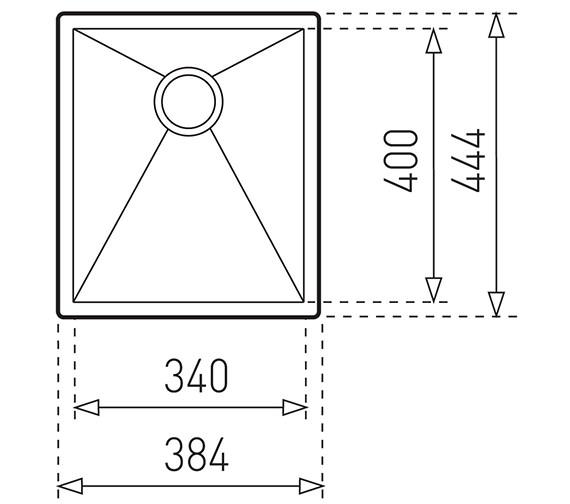 Technical drawing QS-V84275 / CTK2036
