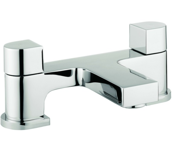Lauren Block Dual Lever Deck Mounted Bath Filler Tap