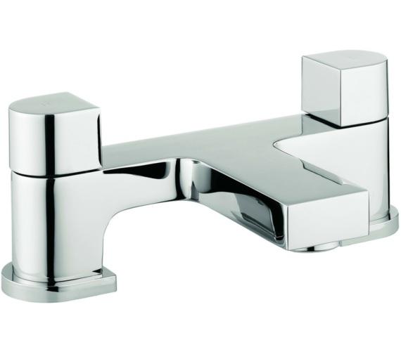 Beo Block Dual Lever Deck Mounted Bath Filler Tap