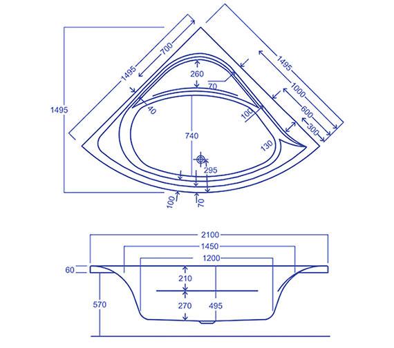 Technical drawing QS-V19634 / Q4-02230