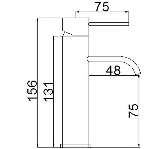 Technical drawing QS-V22125 / WTY315