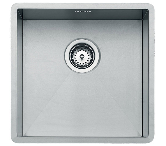 Teka Linea 400.400 Stainless Steel 1.0 Bowl Undermount Sink