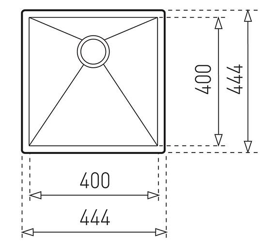 Technical drawing QS-V84276 / CTK2038