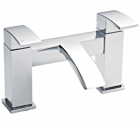 Nuie Premier Vibe Deck Mounted Bath Filler Tap