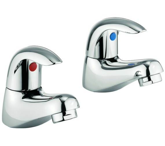 Lauren Alpha Pair Of Basin Pillar Taps