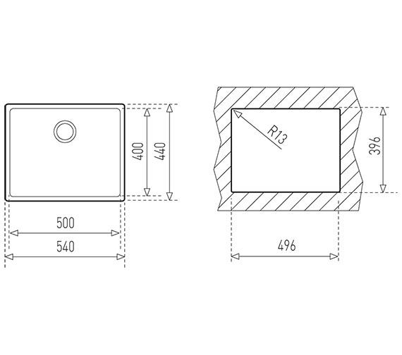 Technical drawing QS-V84273 / CTK2054