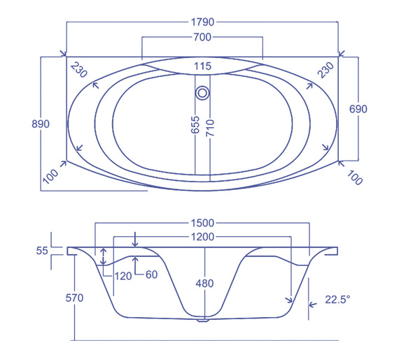 Technical drawing QS-V34548 / Q4-02128