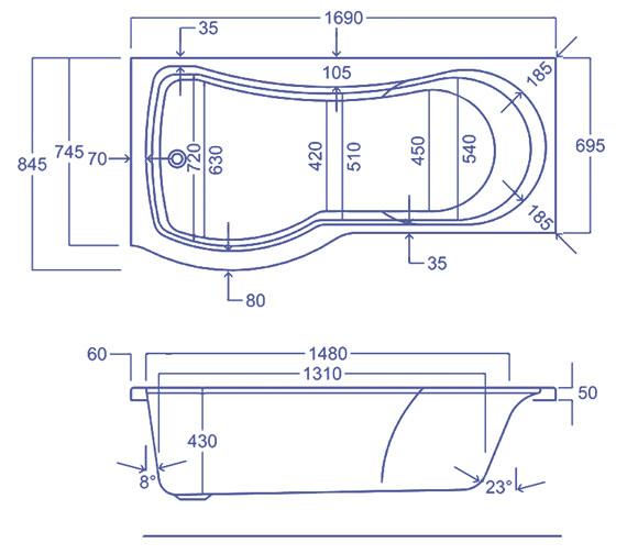 Technical drawing QS-V34557 / Q4-02185