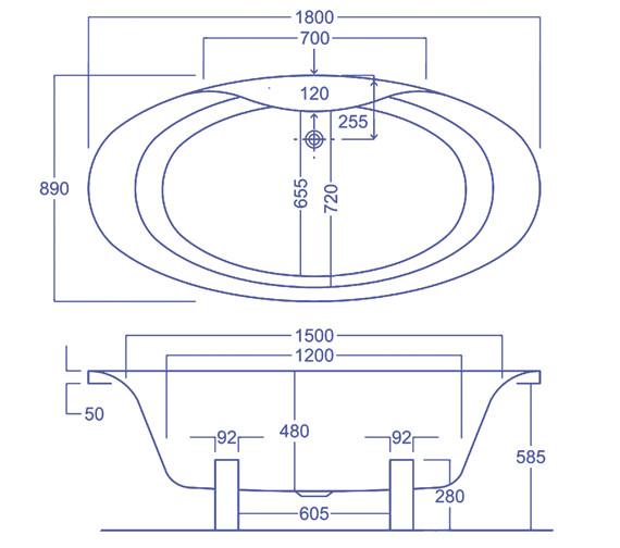 Technical drawing QS-V34544 / Q4-02086