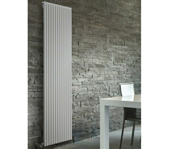 DQ Heating Cube Single Vertical Designer Radiator 400 x 1471mm