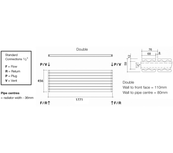 Technical drawing QS-V13588 / TOR2 177/6 H