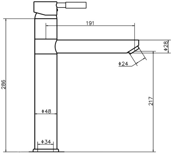 Technical drawing QS-V45016 / FJ319