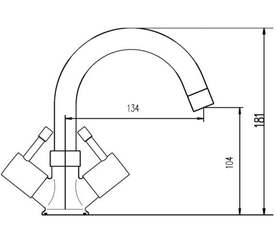 Technical drawing QS-V45014 / FJ317