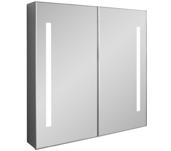 Bauhaus Allure 700mm Height Double Door Mirror Cabinet - More Size Available