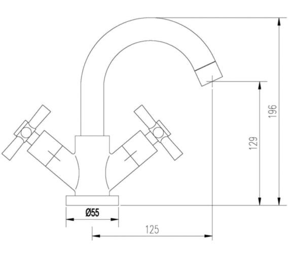 Technical drawing QS-V10878 / FJ365