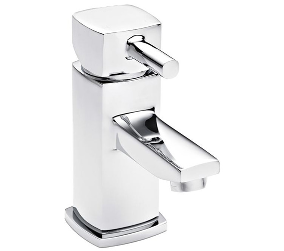 Ultra Munro Mono Basin Mixer Tap With Push Button Waste