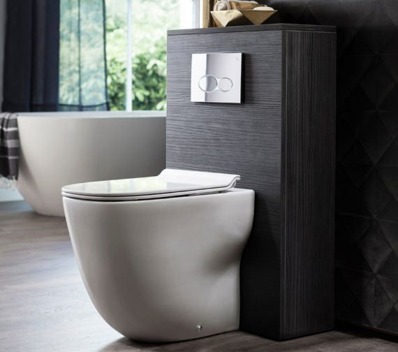 Alternate image of Bauhaus Wild Back To Wall WC With Soft Close Seat 520mm