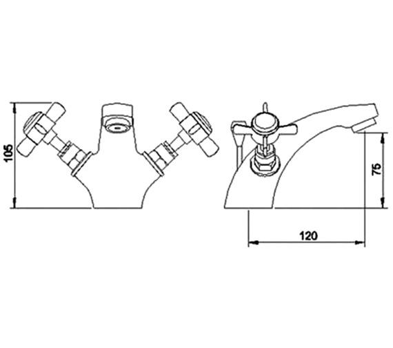 Technical drawing QS-V45047 / I345X