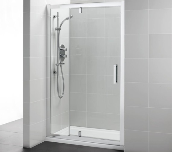 Ideal Standard Synergy Pivot Corner Shower Door With Inline Panel 1200mm
