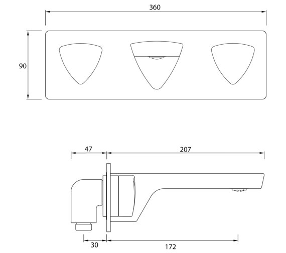 Technical drawing QS-V82469 / BRG WMBF C