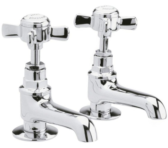 Lauren Series Traditional Pair Of Basin Taps
