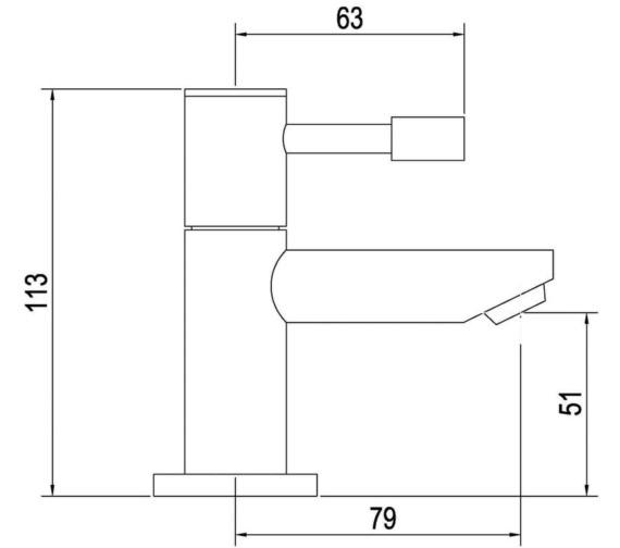Technical drawing QS-V45010 / FJ311