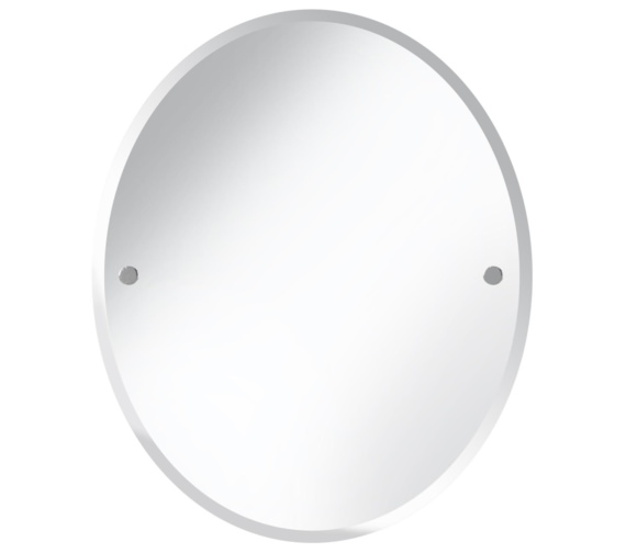Bristan Oval 610 x 500mm Mirror Chrome