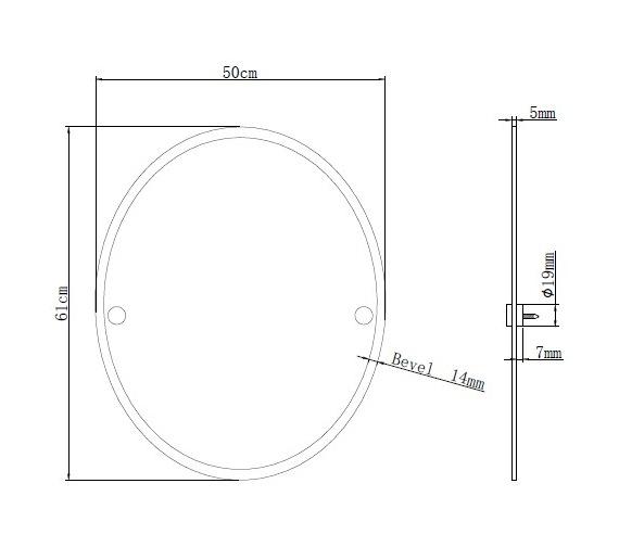 Technical drawing QS-V6806 / COMP MROV C