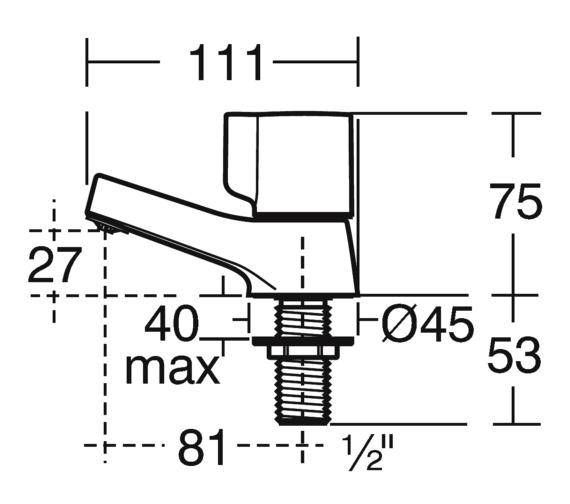 Technical drawing QS-V10162 / B0349AA