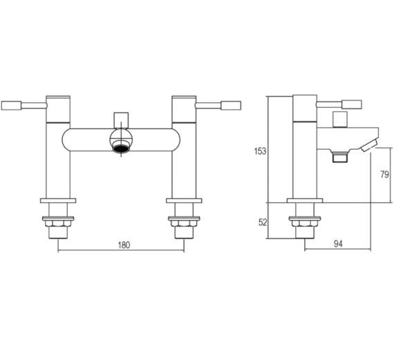 Technical drawing QS-V45013 / FJ314