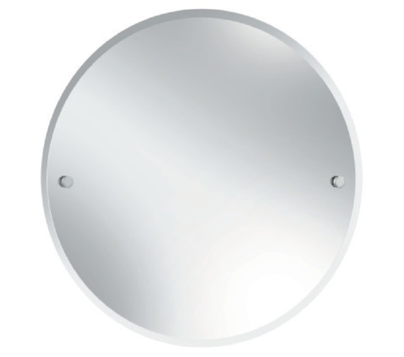 Bristan Round 610mm Mirror Chrome