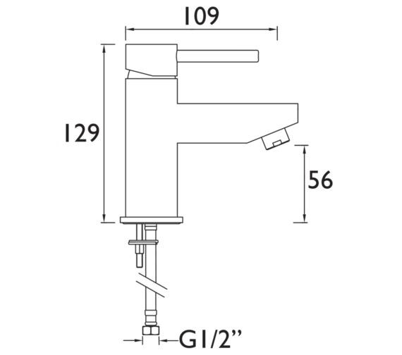 Technical drawing QS-V6892 / BTZ SMBAS C