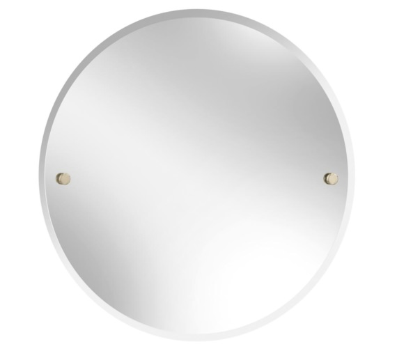 Bristan Round 610mm Mirror Gold