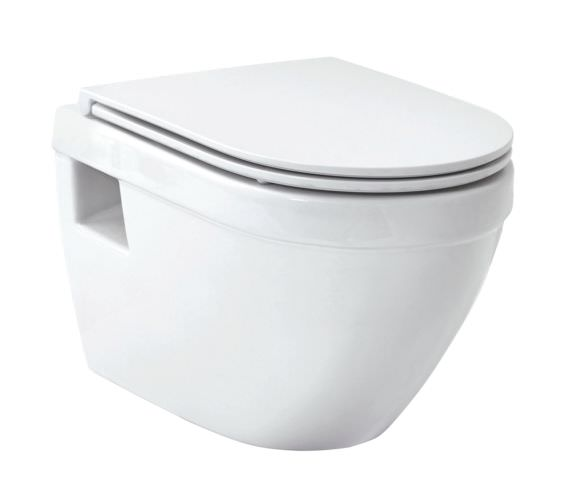Phoenix Forma Luxury Wall Hung WC With Soft Close Seat And Cover