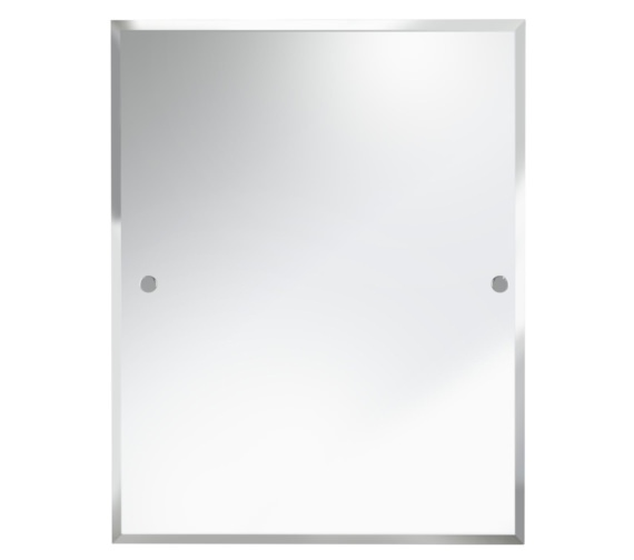 Bristan Rectangle 700 x 550mm Mirror Chrome