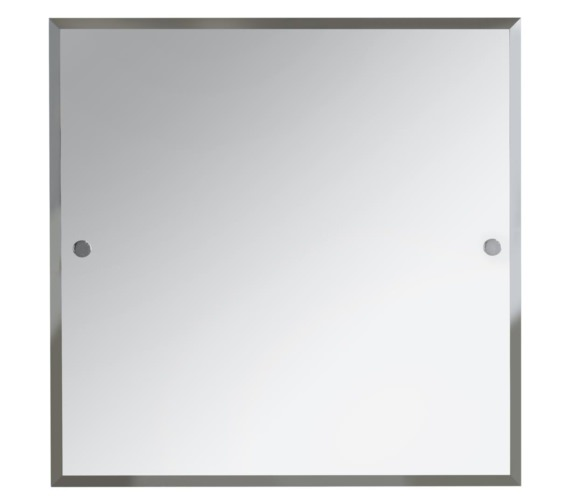 Bristan Square 600 x 600mm Mirror Chrome