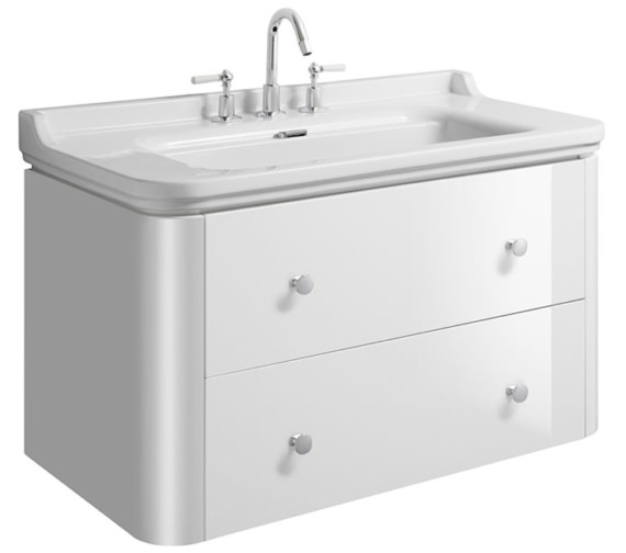 Bauhaus Waldorf 1000mm Basin Unit With 4 Knobs
