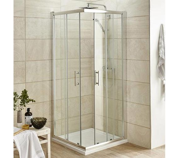 Lauren Pacific Corner Entry 900 X 900mm Shower Enclosure