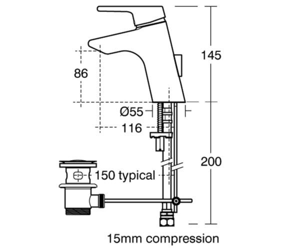 Technical drawing QS-V41035 / B8062AA