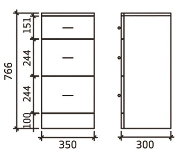 Technical drawing QS-V16236 / BEO-1641