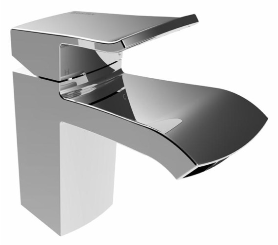 Bristan Descent Deck Mounted Basin Mixer Tap