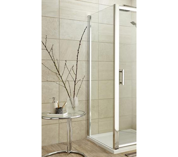 Nuie Premier Pacific 700mm x 1850mm Side Panel For Shower Enclosure